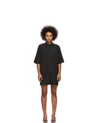 Georgia Alice Black Pierre Shirt Dress