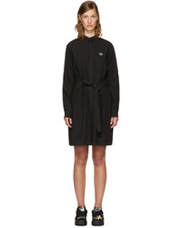 Kenzo Black Tiger Shirt Dress