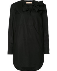 Marni Bow Detail Shirt Dress
