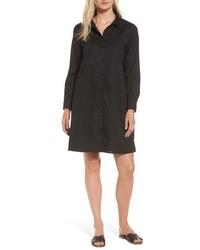Eileen Fisher Stretch Organic Cotton Shirtdress