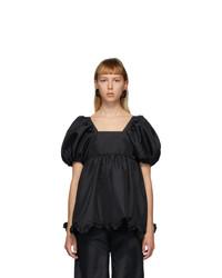 Cecilie Bahnsen Black Vega Blouse