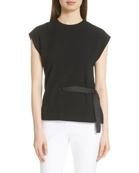 Rag & Bone Etta Side Tie Top