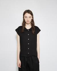 Le Vestiaire De Jeanne Peter Pan Collar Shirt