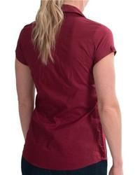 Black Short Sleeve Button Down Shirt Golden Goose Shirts