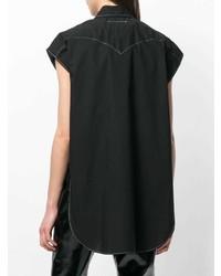 MM6 MAISON MARGIELA Oversized Cap Sleeve Shirt