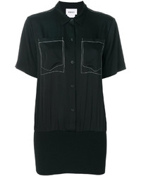 DKNY Patch Embroidered Shirt