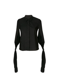 MM6 MAISON MARGIELA Sleeve Tied Fitted Shirt