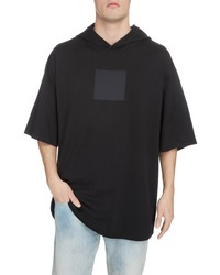 Givenchy Oversize Hooded T Shirt With Integrated Mask