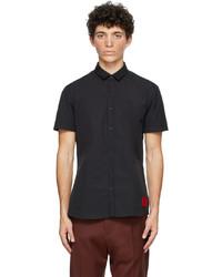 Hugo Black Empson Short Sleeve Shirt
