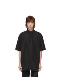 Ottolinger Black Oversize Satin Shirt