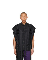 Kidill Black Ribbon Shirt
