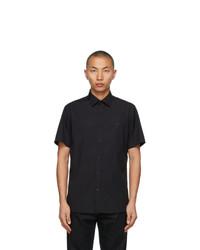 Burberry Black Sherwood Short Sleeve Shirt
