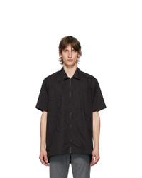 Cornerstone Black Zip Short Sleeve Shirt