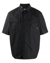 MSGM Boxy Fit Utility Shirt
