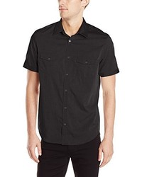 Calvin Klein Short Sleeve 2 Pocket Poplin Woven