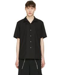 Comme des Garcons Comme Des Garons Homme Plus Black Short Sleeve Shirt
