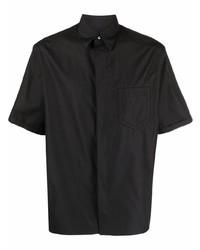 Fendi Embossed Logo Cotton Shirt