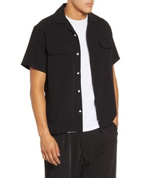 Drifter Fields Short Sleeve Button Up Shirt