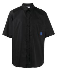 Marcelo Burlon County of Milan Logo Print Short Sleeve Shirt