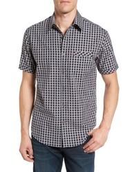 086508c083d James Campbell Moses Regular Fit Short Sleeve Sport Shirt