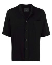 Roberto Collina Notched Collar Short Sleeve Shirt