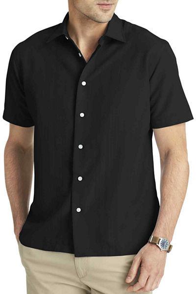 cda5848309b47 ... Van Heusen Short Sleeve Textured Stripe Shirt