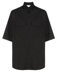 Ermenegildo Zegna Short Sleeved Button Up Shirt