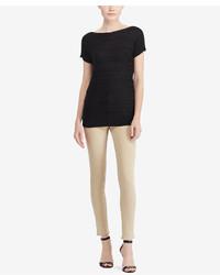 Lauren Ralph Lauren Cable Short Sleeve Sweater