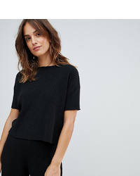 Micha Lounge Knitted T Shirt In Soft Rib Co Ord