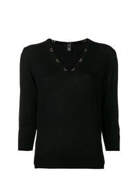 Cavalli Class V Neck Sweater