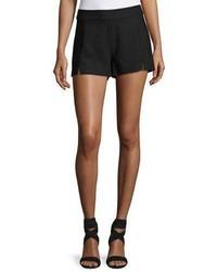 Ramy Brook Adele Slit Front Shorts Black