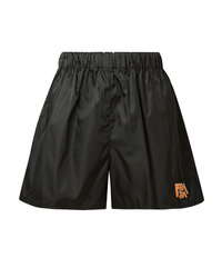 Prada Appliqud Shell Shorts