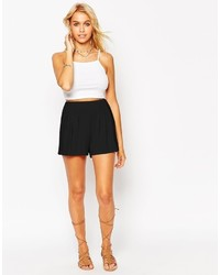 Asos Collection Pleated Culotte Shorts