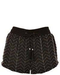 Topshop Beaded Flippy Shorts