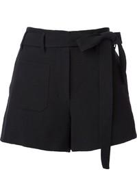 Helmut Lang Belted Shorts