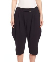 Issey Miyake Belted Tapered Shorts