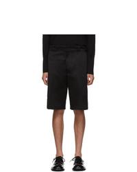 Prada Black Chino Shorts