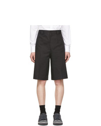 Lanvin Black Chino Shorts