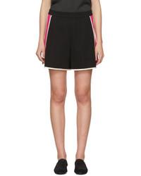 Lanvin Black Pink Panelled Shorts