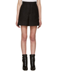 Isabel Marant Black Satia Shorts