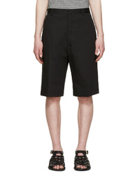 Lanvin Black Tailored Shorts