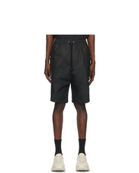 Gucci Black Waterproof Cargo Shorts