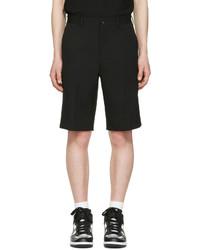 Comme des Garcons Comme Des Garons Homme Plus Black Gabardine Shorts