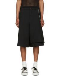 Comme des Garcons Comme Des Garons Homme Plus Black Side Zip Shorts