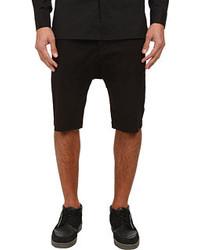 Helmut Lang Compact Chino Drop Crotch Cargo Short Shorts