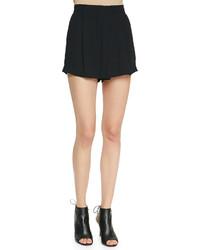 A.L.C. Dello Pleated High Waist Shorts