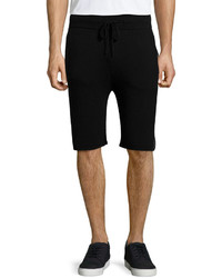 Helmut Lang Drawstring Slim Fit Shorts Black