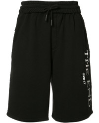 Off-White Drawstring Sweat Shorts