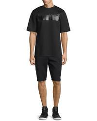 Helmut Lang Drawstring Track Shorts Black
