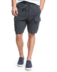 Vince Drop Rise Military Cargo Shorts
